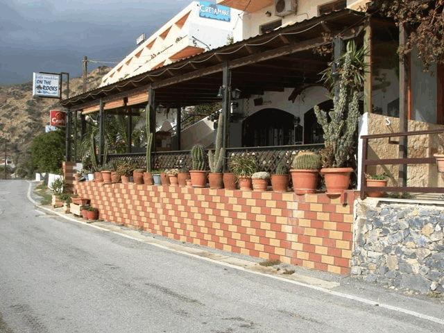 On the Rocks hotel in Plakias Crete
